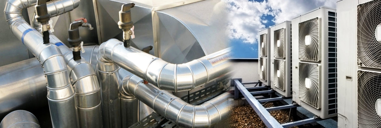 An image that shows the wide range of commercial ventilation systems that can be installed by Vent Logistics Limited