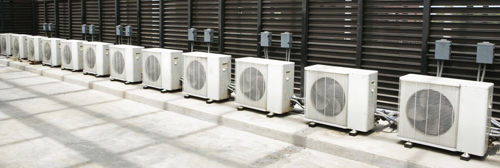 An image showing industrial air conditioning units outside