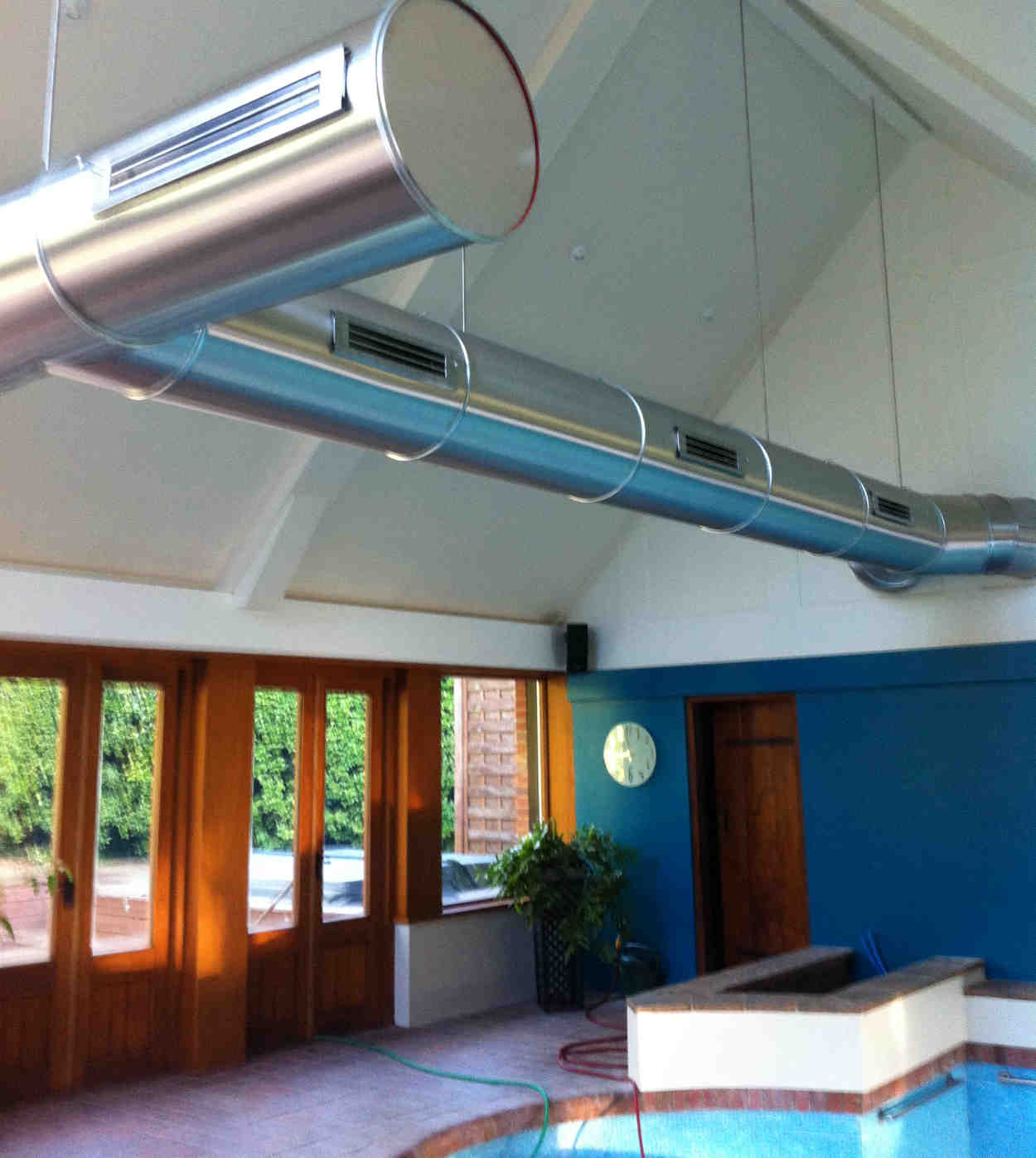 Case Study: Ventilation System for a Domestic Swimming Pool